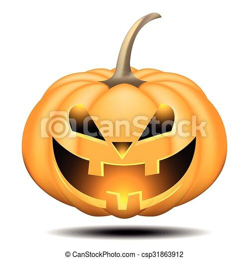 pumpkin halloween - csp31863912