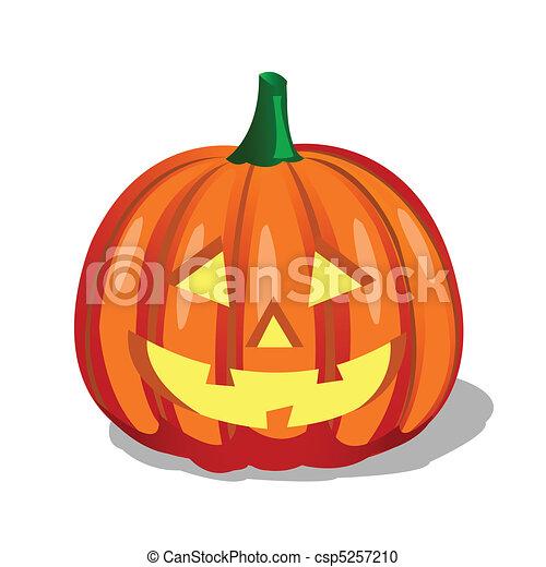 Pumpkin, Halloween - csp5257210