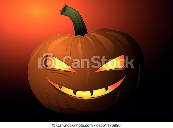 pumpkin head - csp51176998