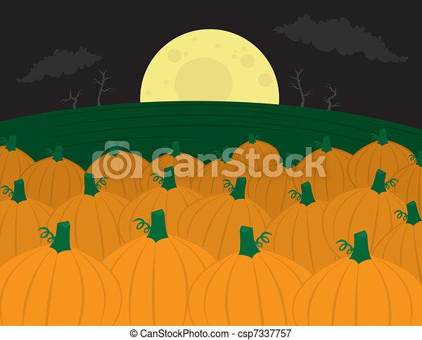 Pumpkin Patch - csp7337757