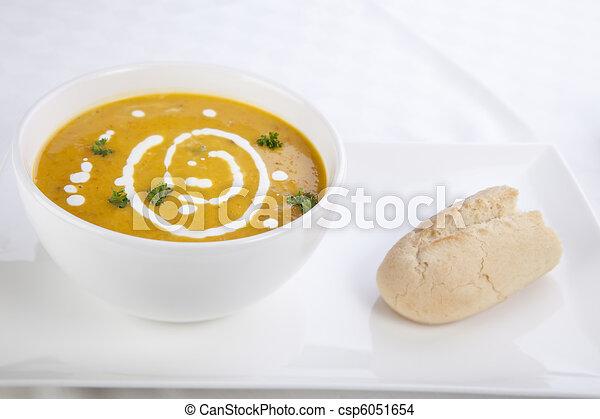 Pumpkin Soup Snack - csp6051654