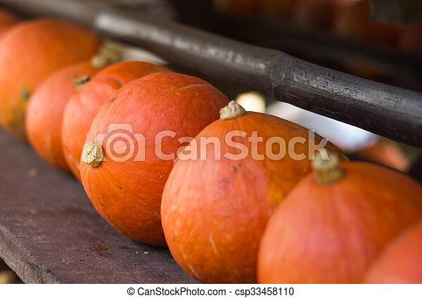 Pumpkins. - csp33458110