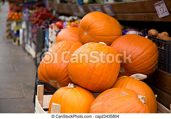 pumpkins. - csp23435804