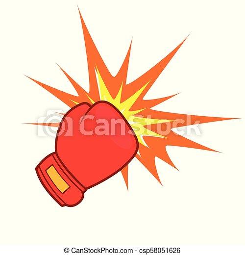 punch design on white background - csp58051626