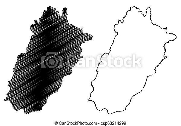 Punjab map - csp63214299