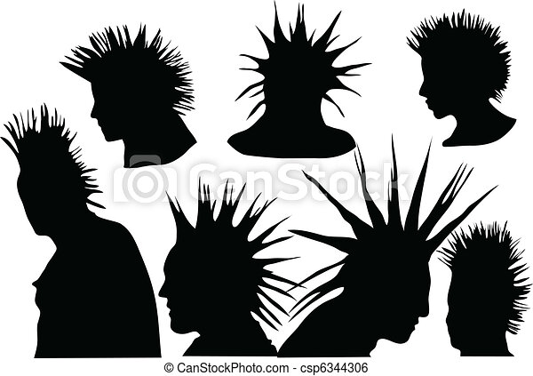 Punks 70s 80s Punk Rock Hairstyle Urban Culture