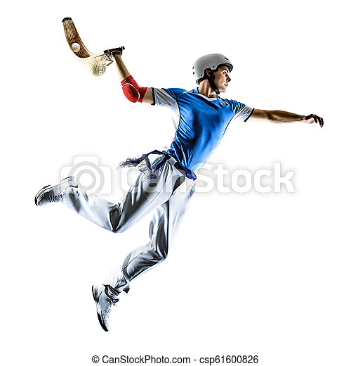 punta, pelota, silhouet, alai, cesta, freigestellt, spieler, baske, jai, mann - csp61600826