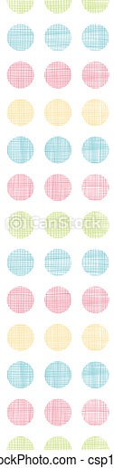 punten, verticaal, model, abstract, polka, strepen, seamless, textiel, achtergrond - csp19423459