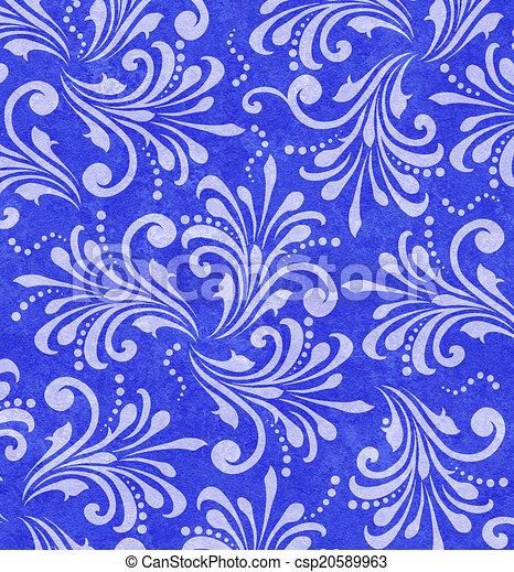 Antecedentes de espirales florales - csp20589963