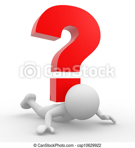 punto interrogativo - csp10629922