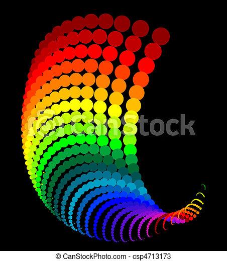 Abstraer puntos arco iris - csp4713173