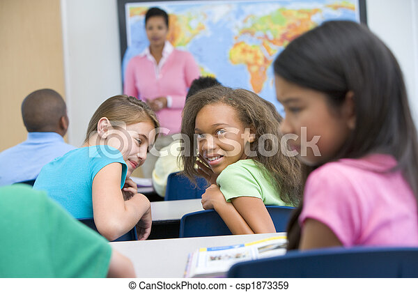 Pupil being bullied in elementary school - csp1873359