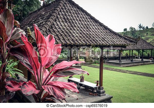 Pura Luhur Batukau Batukaru Hindu temple - csp69376019