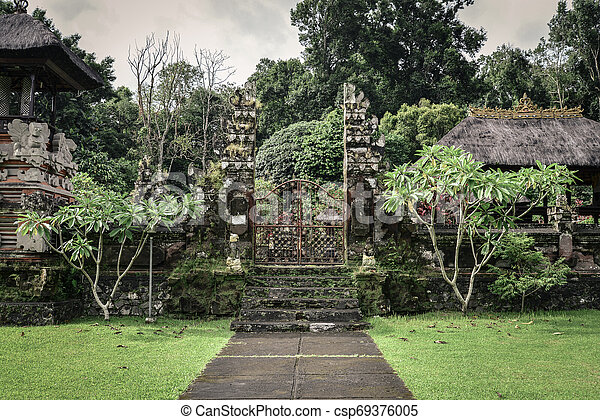 Pura Luhur Batukau Batukaru Hindu temple - csp69376005