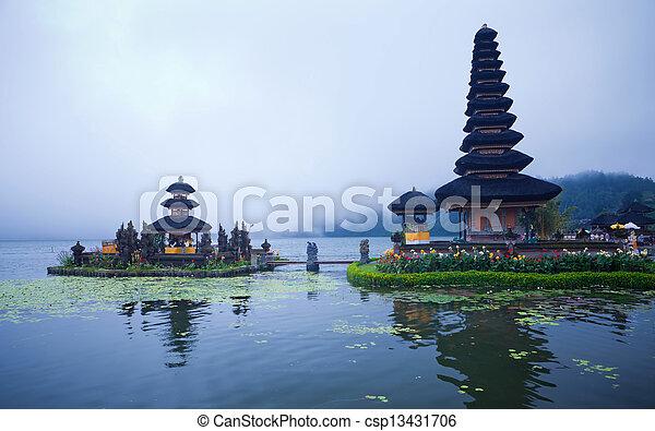 Pura Ulun Danu Bratan temple - csp13431706