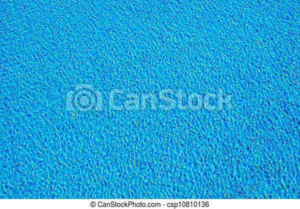 Pure water in the pool - csp10810136