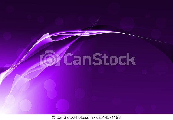 Purple abstract lines with glowing background - csp14571193