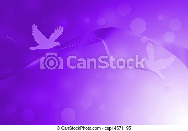 Purple abstract lines with glowing background - csp14571195