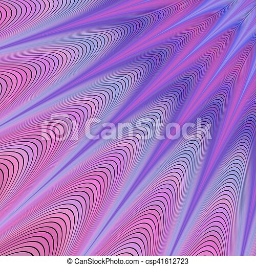 Purple abstract vector fractal background design - csp41612723