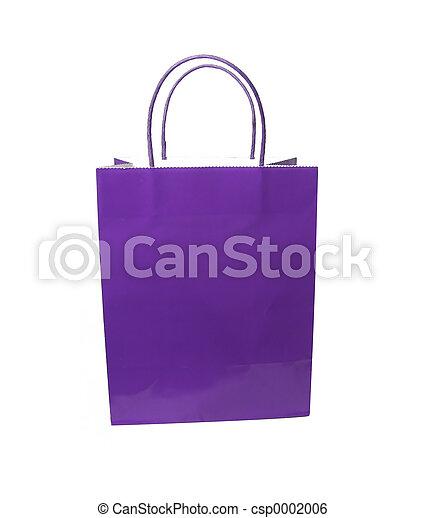 Purple Bag - csp0002006