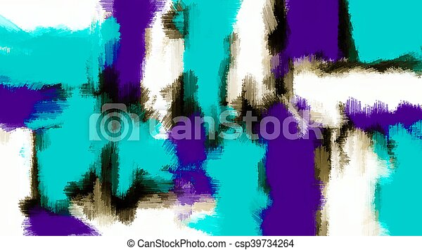 purple blue and black abstract - csp39734264