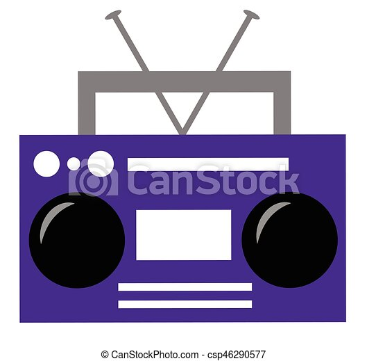 purple boombox rh canstockphoto ca boombox vector image boombox vector icon