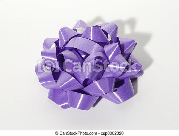 Purple Bow - csp0002020
