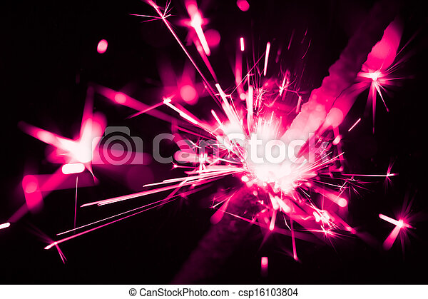 purple christmas sparkler - csp16103804