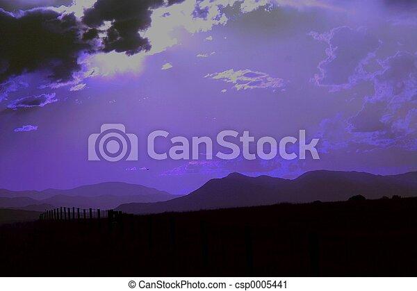 Purple Dusk - csp0005441