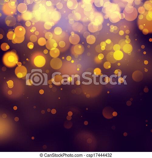 Purple Festive Christmas background - csp17444432