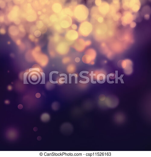 Purple Festive Christmas background - csp11526163