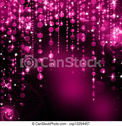 Purple Festive Christmas background - csp12294457