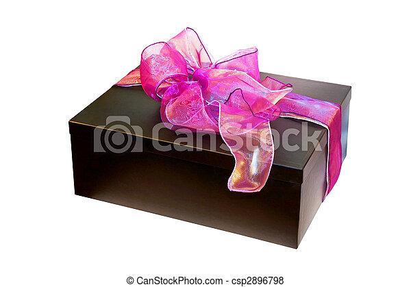 Purple gift - csp2896798