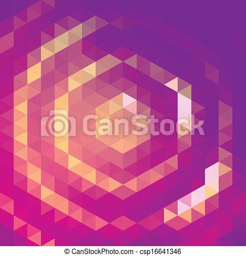 Purple grid pattern - csp16641346