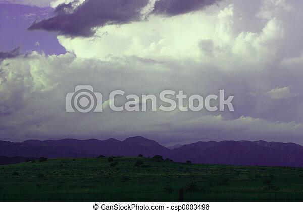 Purple Mountains - csp0003498