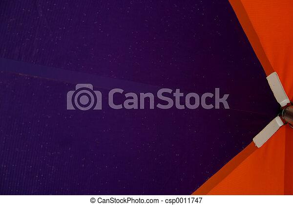 Purple & Orange - csp0011747