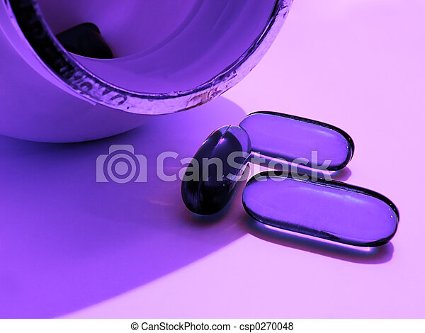 Purple Pills 2 - csp0270048