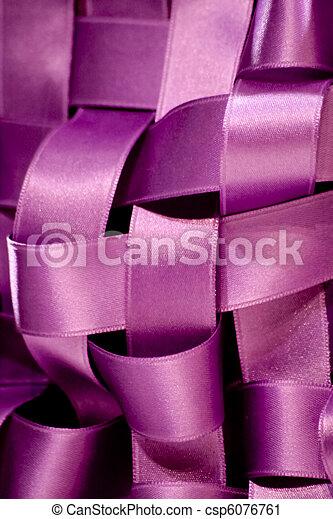 Purple ribbon - csp6076761