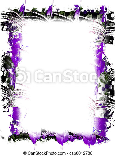 Purple Ribbon - csp0012786