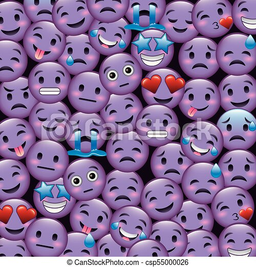purple smile emoticons wallpaper happy illustration csp55000026