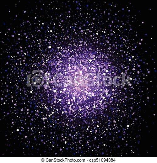 Purple star confetti background celebration background with purple star confetti background csp51094384 voltagebd Gallery