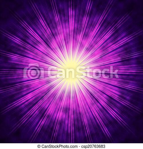 Purple sun background means bright radiating star purple stock purple sun background means bright radiating star csp20763683 voltagebd Gallery