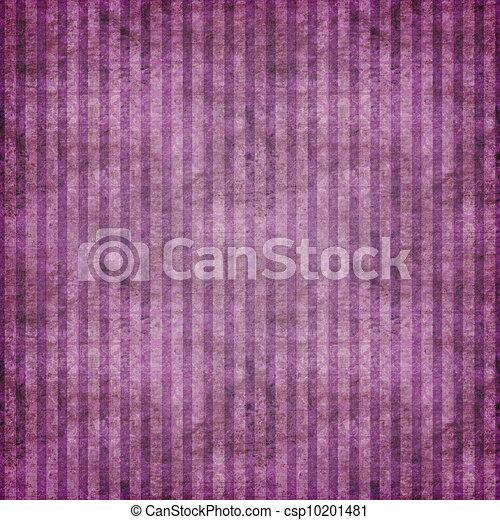 purpur, grungy, skuggat, stripes - csp10201481