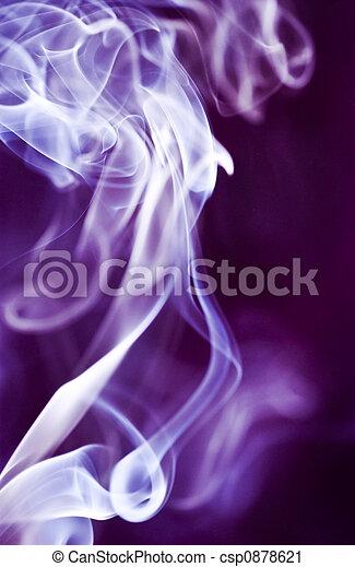 purpur, røg - csp0878621
