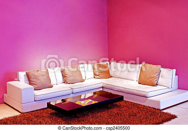 purpurowy, żyjący - csp2405500