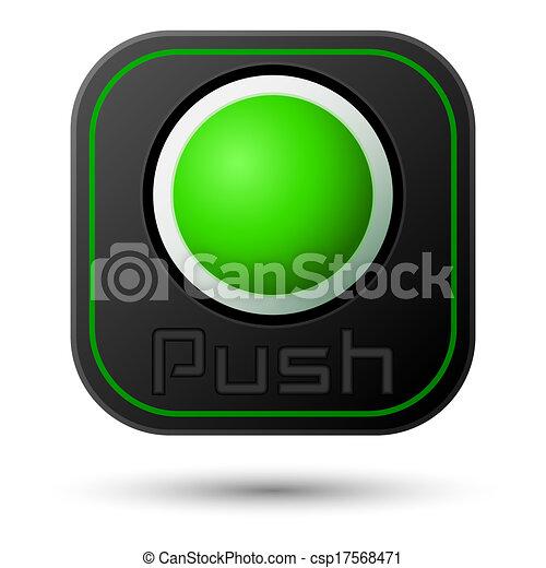 Push button - csp17568471
