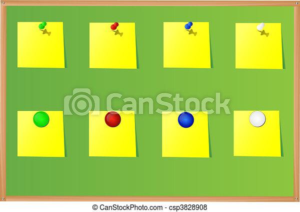 Push-pins - csp3828908