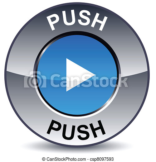 Push round button. - csp8097593