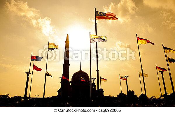 Putra Mosque Malaysia - csp6922865