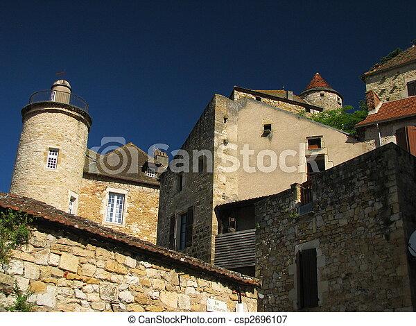 Puy eveque, town - csp2696107